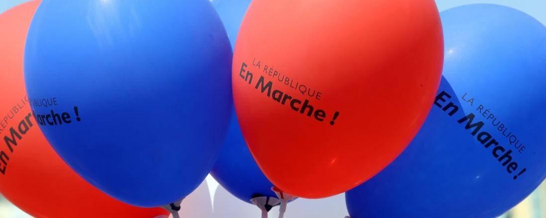 Sur le plan juridique, La République En Marche, n'est pas différente des partis politiques existants. © VALERY HACHE / AFP