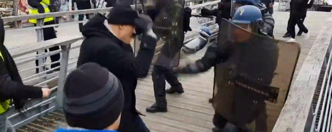 L'avocat de l'association partie civile Gendarmes et citoyens rappelle que le procès du boxeur gilet jaune relève du droit commun. ©DR
